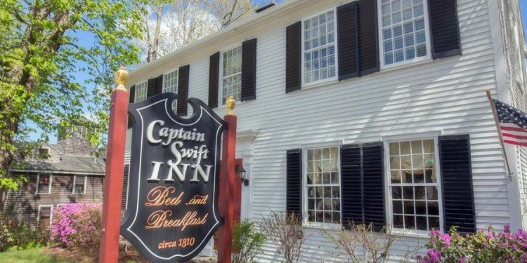 Captain Swift Inn - a historic