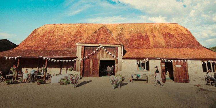 "Stockbridge farm barn outside. """